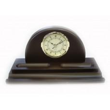 Деревянные часы с подставкой для ручки, АР-2217