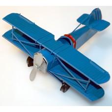 Модель декоративная металлическая ручной работы Самолет, CJX1001