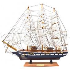 Декоративная модель парусника CONFECTION высота 45см