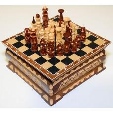 Шахматы резные ручной работы Терем