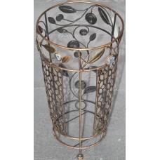 Подставка для зонтов из ротанга в металле, HD38470