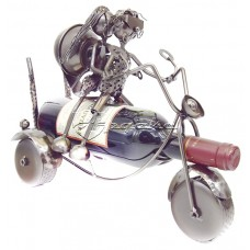 Держатель для винной бутылки из металла немецкий дизайн Безумный Макс, JX9482