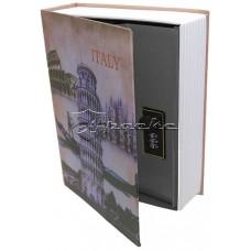 Книжка-сейф ИТАЛИЯ высота 18 см, KS_ITALY18