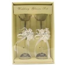 Свадебные бокалы (2 шт), высота 23 см, WGLASSES