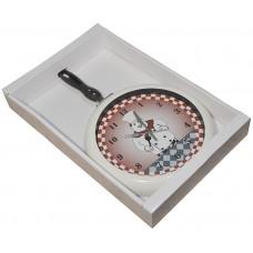 Часы на стену кухни Сковородка 46см, YGZ1302